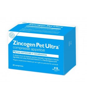Nbf lanes Zincogen Pet Ultra 60 compresse