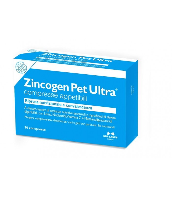 Nbf lanes Zincogen Pet Ultra 30 compresse