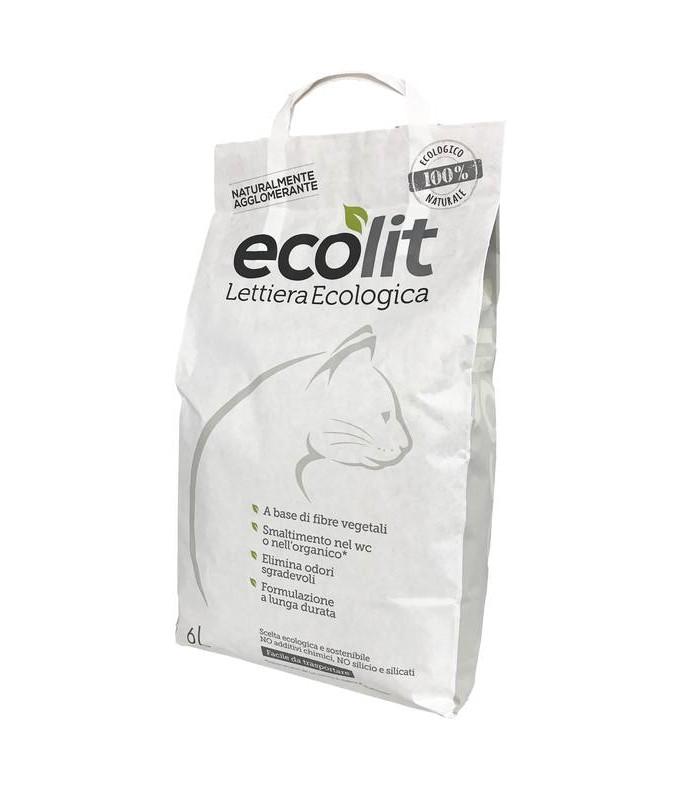 Ecolit lettiera 6 litri