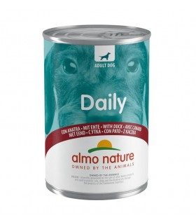 Almo nature daily menu cane con anatra 400 gr