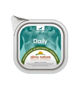 Almo nature pfc daily menu cane adult con tacchino e zucchine 100 gr