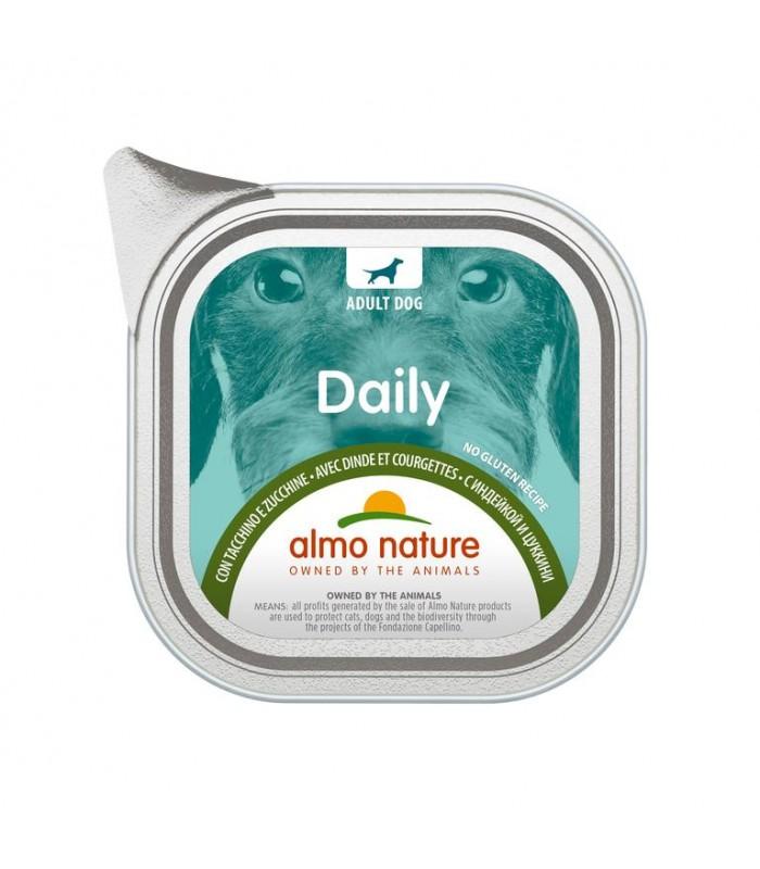 Almo nature pfc daily menù cane con tacchino e zucchine 100 gr