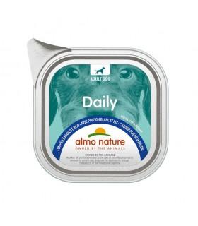 Almo nature pfc daily menu cane adult con pesce bianco e riso 100 gr