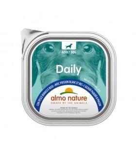 Almo nature pfc daily menù cane con pesce bianco e riso 300 gr