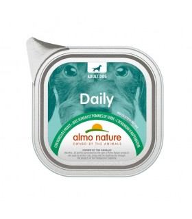 Almo nature pfc daily menu cane adult con agnello e patate 100 gr
