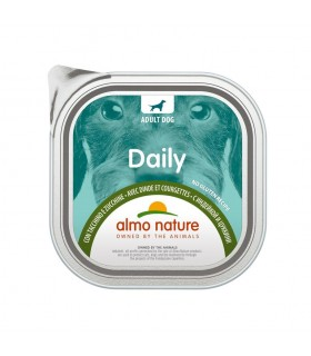Almo nature pfc daily menu cane adult con tacchino e zucchine 300 gr