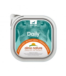 Almo nature pfc daily menu cane adult con vitello e carote 300 gr