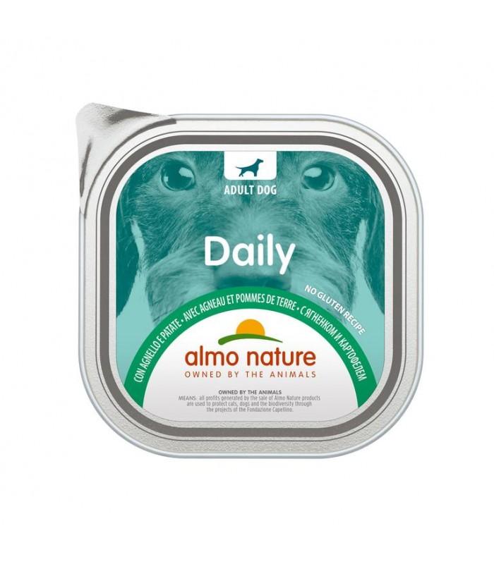 Almo nature pfc daily menù cane con agnello e patate 300 gr