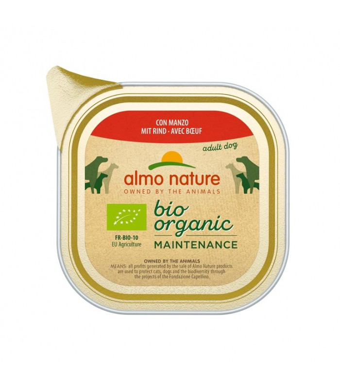 Almo nature pfc daily menù cane con manzo 100 gr