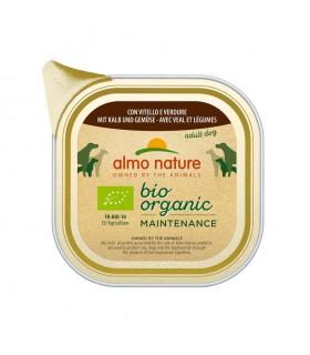 Almo nature pfc daily menù bio cane adult con vitello e verdure 100 gr