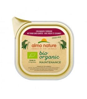 Almo nature pfc daily menù bio cane adult con manzo e verdure 100 gr