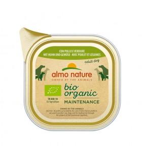 Almo nature pfc daily menù bio cane adult con pollo e verdure 100 gr