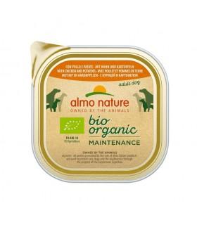 Almo nature pfc daily menù bio cane adult con pollo e patate 300 gr