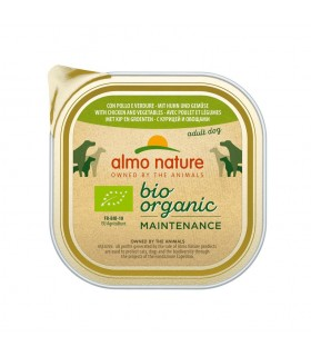 Almo nature pfc daily menù bio cane adult con pollo e verdure 300 gr