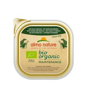 Almo nature pfc daily menù bio cane adult con pollo e broccoli 300 gr