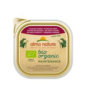 Almo nature pfc daily menù bio cane adult con manzo e verdure 300 gr
