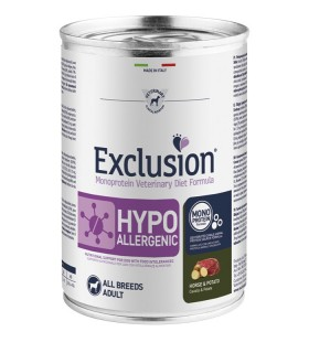 Exclusion diet formulahypoallergenic cavallo e patate 400 gr