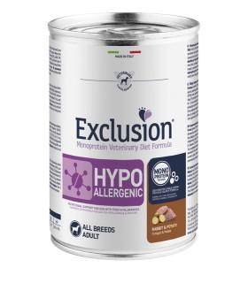Exclusion diet formulahypoallergenic coniglio e patate 400 gr