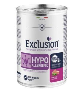 Exclusion diet formulahypoallergenic maiale e piselli 400 gr