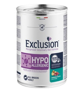 Exclusion diet formula hypoallergenic cervo e patate 400 gr