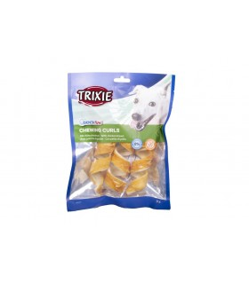 Trixie denta fun 3 x chewing curls pollo 110 gr