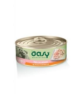 Oasy cane adult specialita naturale pollo con salmone 150 gr