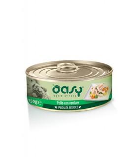 Oasy cane adult specialita naturale pollo con verdure 150 gr
