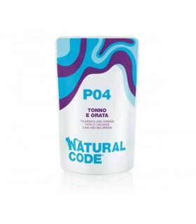 Natural code P04 gatto tonno e orata 70 gr