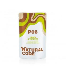 Natural code P06 gatto orata e verdure 70 gr