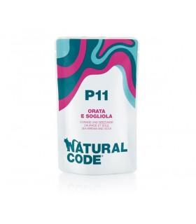 Natural code P11 gatto orata e sogliola 70 gr