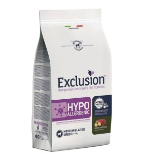 Exclusion diet formula hypoallergenic cavallo e patate medium large 2 kg