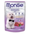 Monge cane grill manzo in busta 100 gr