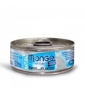 Monge gatto natural tonno dell'atlantico 80 gr