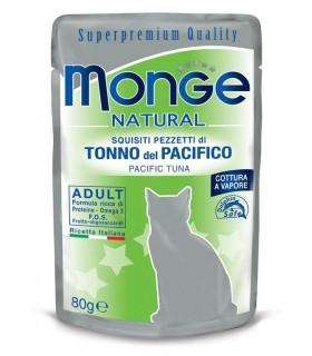 Monge gatto natural tonno del pacifico busta 80 gr