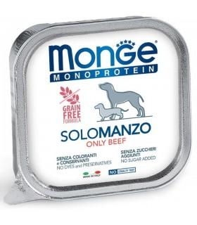 Monge cane monoprotein solo manzo 150 gr