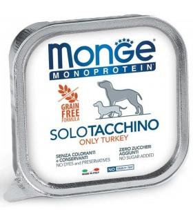 Monge cane monoprotein solo tacchino 150 gr