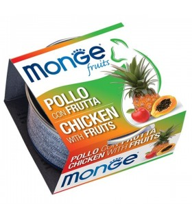 Monge gatto fruits pollo con frutta 80 gr