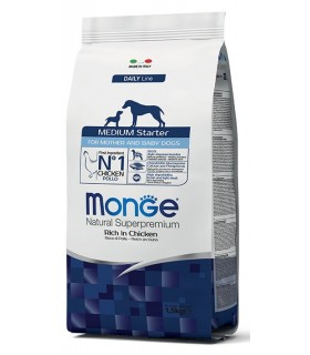 Monge cane medium starter pollo 1,5 kg