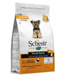Schesir cane Small Adult Mantenimento ricco in pollo 2 kg