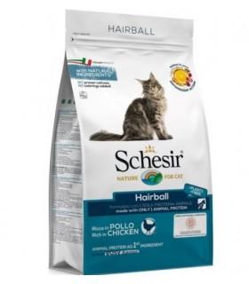 Schesir gatto Hairball ricco in pollo 400 gr