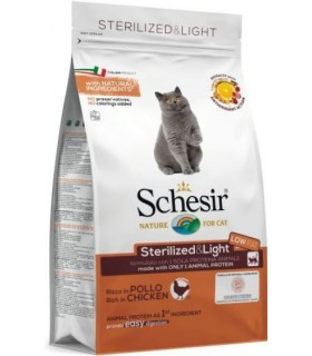 Schesir gatto adult Sterilized & light ricco in pollo 1,5 kg
