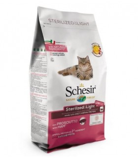 Schesir gatto adult Sterilized & light con prosciutto 1,5 kg