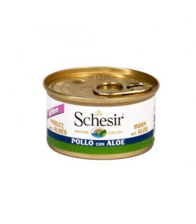 Schesir kitten filetti di pollo con aloe 85 gr