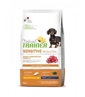 Natural trainer Sensitive cane No Gluten Mini Adult Agnello 7 kg