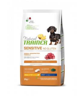 Natural trainer Sensitive cane No Gluten Mini Adult Agnello 2 kg