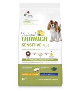 Natural trainer Sensitive plus cane small & toy Adult cavallo 2 kg