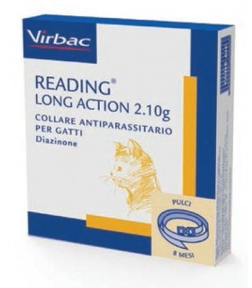 Virbac reading long action collare gatti 2,10 gr