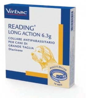 Virbac reading long action collare cane taglia grande 6,3 gr