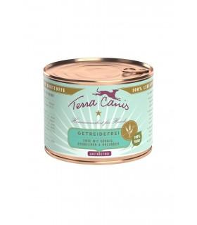 Terra canis grain free anatra con zucca, fragola e sambuco 200 gr