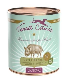 Terra canis grain free cinghiale con barbabietola, castagna dolce e semi di chia 800 gr